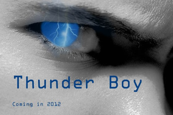I made this movie poster for a fictional super hero. I wanted the thunder in the eyes to demonstrate inner turmoil. I created this in Adobe Photoshop.